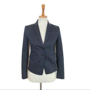 Ann Taylor Navy Blue Blazer Suit Jacket NWT